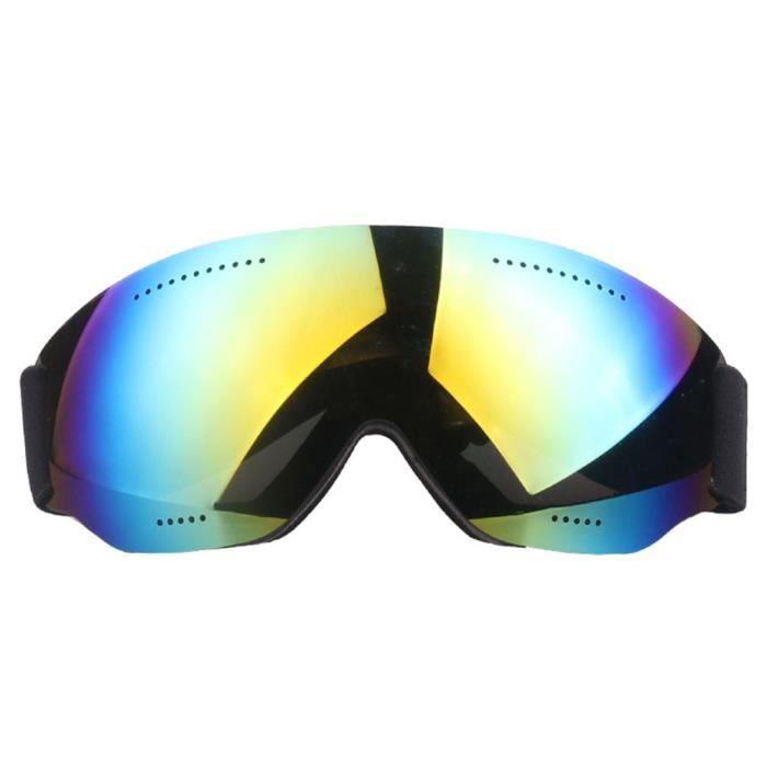 665180bb005a8c Big Vision Eyewear - Masque De Ski Masque Boucle Réglable Lunettes Coupe- Vent Simple