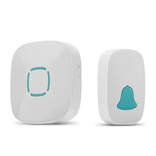 yokkao sonnette sans fil sonnerie maison etanche 32. Black Bedroom Furniture Sets. Home Design Ideas