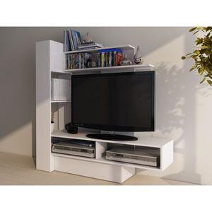 meuble tv gain de place achat vente pas cher. Black Bedroom Furniture Sets. Home Design Ideas