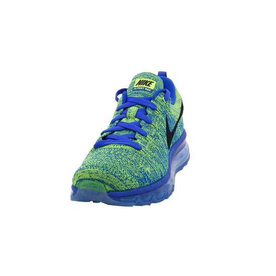 Basket Nike Flyknit Air Max - 620469-402 Bleu Vente Bleu - Achat / Vente Bleu basket 527a23