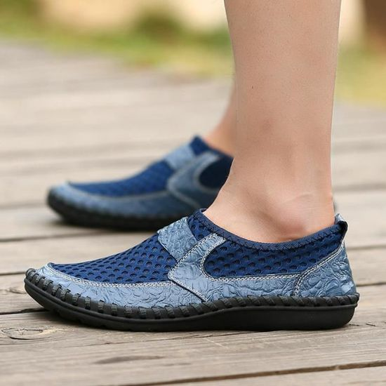 Luxe Chaussure Mode Meilleure Chaussures Nouvelle Qualité De Marque Ete Homme Grande Mesh 0tRvpt