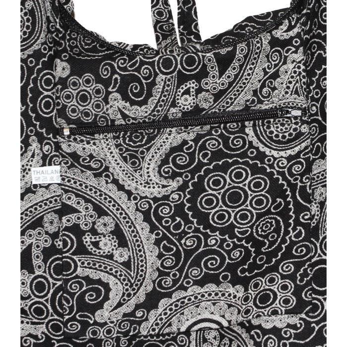 Craze womens sac tapisserie de la mode sac shopper dépaule dans la conception de labrador D169Z