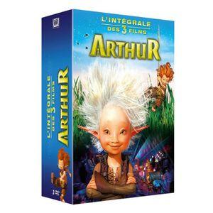 DVD DESSIN ANIMÉ DVD pack Arthur : La trilogie de Luc Besson