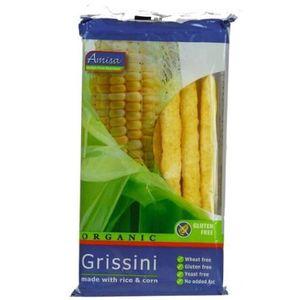 GALETTES RIZ - MAÏS Amisa de maïs bio et riz Grissini 100 g