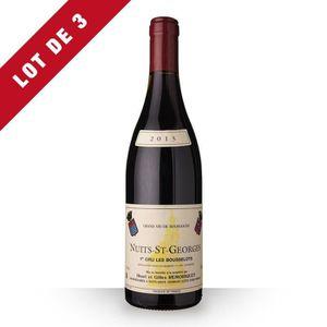 VIN ROUGE 3X Domaine Remoriquet 2013 Rouge 75cl AOC Nuits-Sa