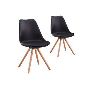 chaises scandinaves lot de 6 achat vente chaises scandinaves lot de 6 pas cher soldes d s. Black Bedroom Furniture Sets. Home Design Ideas