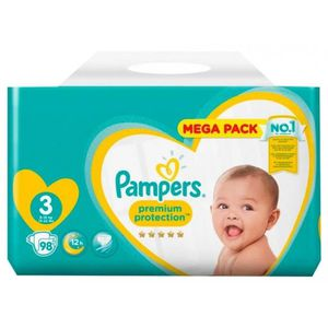 DISTRIBUTEUR COUCHE  Pampers Couches Premium Megapack Taille 3 (6-10Kg)