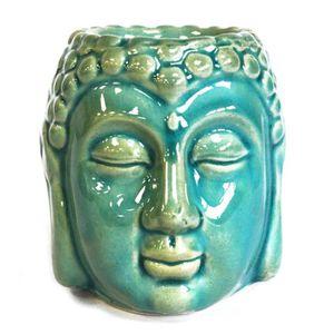 DIFFUSEUR DE PARFUM Brûleur à huile Bouddha - Bleu