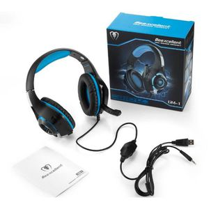 CASQUE RECONDITIONNÉ Beexcellent GM-1 Casque Gaming PS4, Casque Gamer a