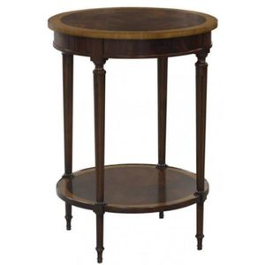 TABLE D'APPOINT Casa Padrino table d'appoint baroque de luxe marro