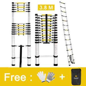 ECHELLE FINETHER 3.8M Échelle Télescopique Portable Echell