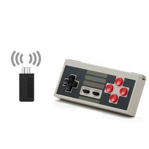 MANETTE JEUX VIDÉO 8Bitdo NES30 Classic Edition Set with Retro Receiv