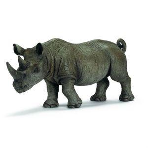 FIGURINE - PERSONNAGE Schleich - 14394 - Rhinocéros noir mâle