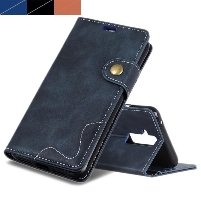 coque portefeuille huawei mate 20 lite