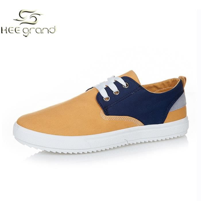Chaussure Toile Sport Casual Homme Basket Contr... 5Z3KrS