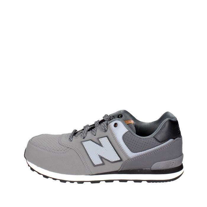 New Balance Sneakers Garçon Gris, 37½