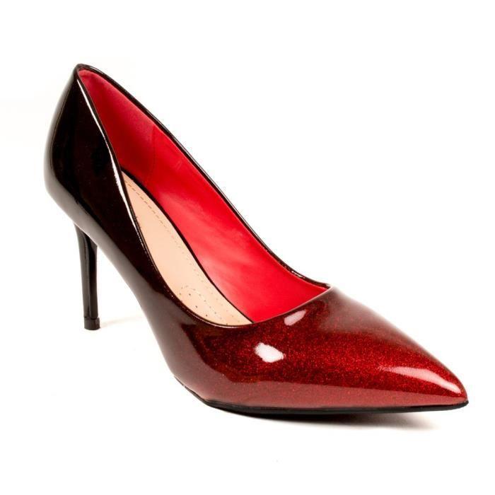 e8ca6b7c4103 ESCARPIN Escarpins vernis dégradé à paillette - Chaussure d. Chaussures de  soirée à talon et paillettes pour femme ...