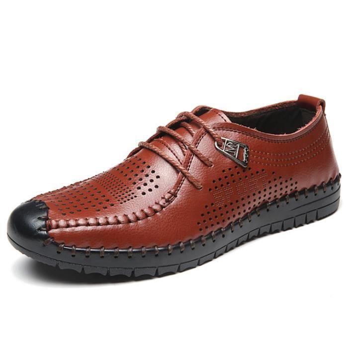 Soulier Chaussures Habil Homme En Sandales Cuir qgwPHS