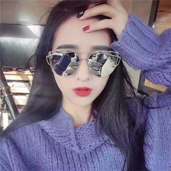 Femmes Rétro lunettes de soleil polarisées