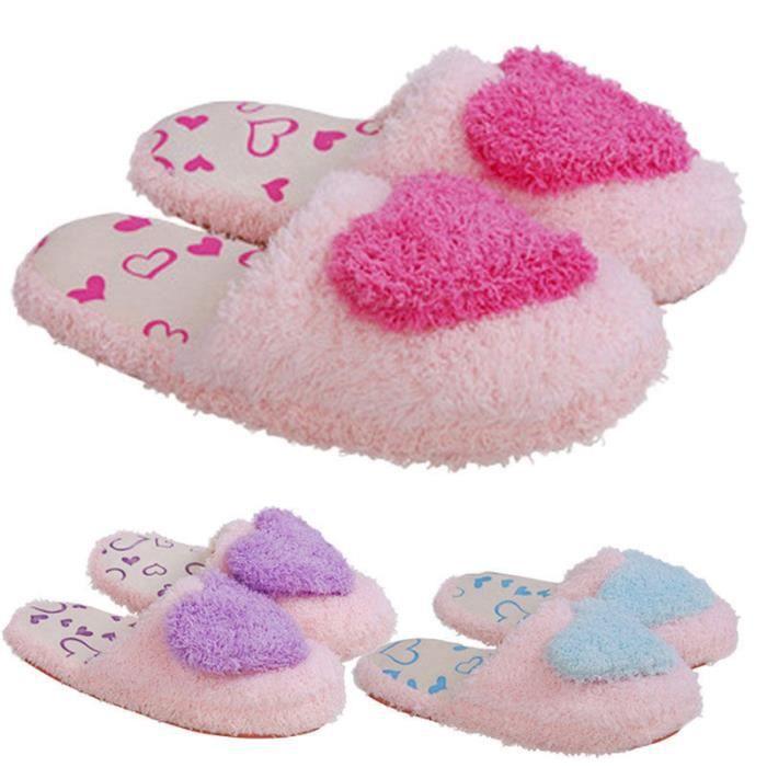Chaussons femme Chaussure meilleur Haut qualité Nouvelle mode Grande Taille chaussure femme peluche hiver adulte marque chaude luxe 6DAPQ19Hg