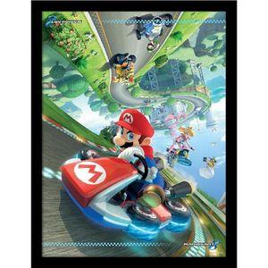 AFFICHE - POSTER Cadre Mario Kart 8