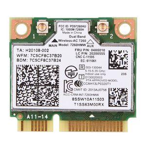 CARTE RÉSEAU   Carte Wlan Pour Lenovo Thinkpad pour Intel 7260AC