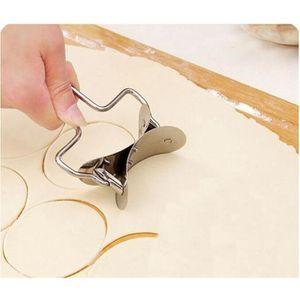 ENSEMBLE DE DÉCOUPE 1 Pcs En Acier Inoxydable Pâte Presse Cutter Boule