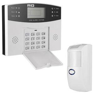 KIT ALARME Détecteur de système d'alarme sans fil GSM EU pris