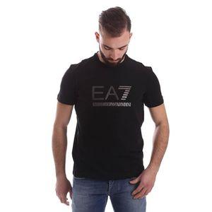 T-SHIRT EA7 EMPORIO ARMANI T SHIRT HOMME NOIR,