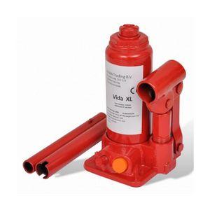 CRIC Superbe Cric bouteille hydraulique 2 tonnes Rouge