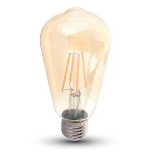 AMPOULE - LED V-TAC VT-1964D, Blanc chaud, Ambre, A+, 220-240, 5