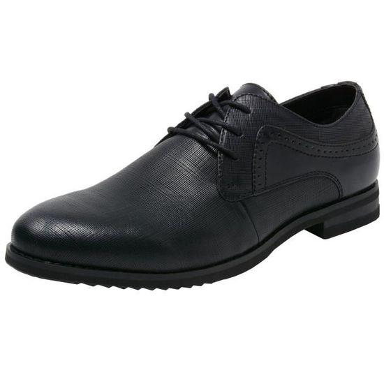 Saffiano Taille Pour 2 Chaussures Lacets Hommes Diamond 40 Dress 3yq71g à En Cuir Double Oxford 1 I76gfybYv