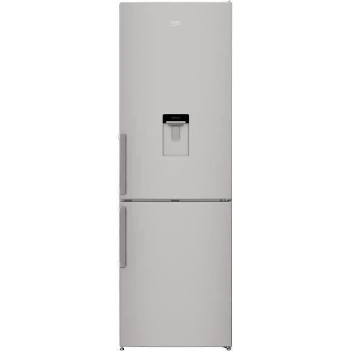 BEKO - CRCSA295K31DSN - Réfrigérateur congélateur bas - 295 L (205+90) - Froid brassé - MinFrost - A