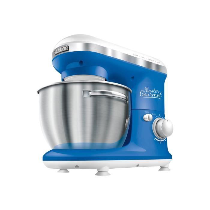 SENCOR STM3622BL Robot pâtissier Master Gourmet - Bleu