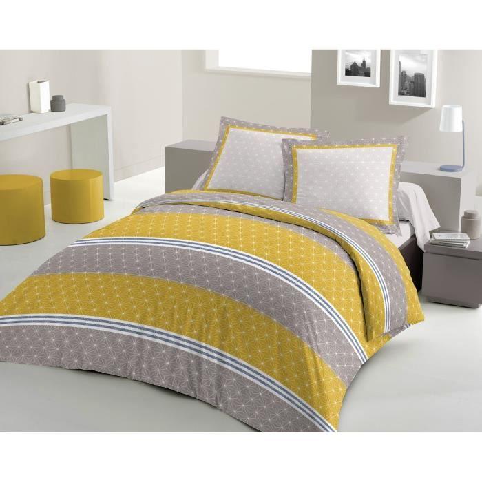 lovely home parure de couette scandinave 100 coton 1. Black Bedroom Furniture Sets. Home Design Ideas