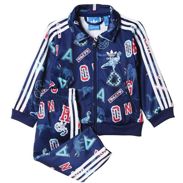 Survêtement Superstar Marine Bébé Garçon Adidas Bleu Bleu - Achat ... 17d53d545a1