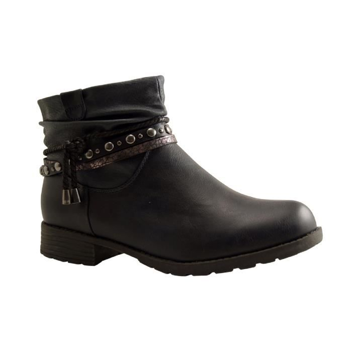 BOTTY SELECTION Femmes-1005821BOOTS-BOOTS-NAVY