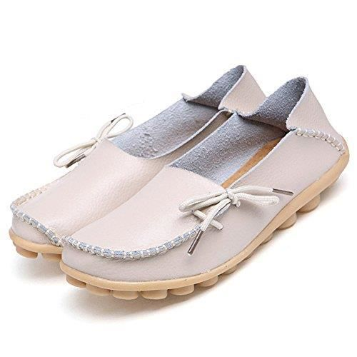 Slip On Flats Drivers Leather Casual Comfort Shoes Boat Loafers Footwear RSQH1 Taille-40 koEFYLq