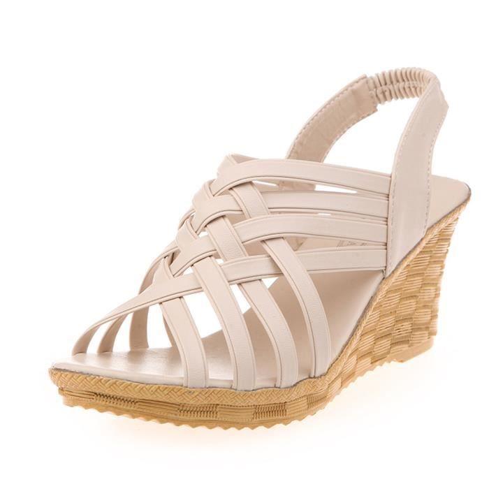 SANDALE - NU-PIEDS Chaussures@ Femme Sandale à talons hauts Découper