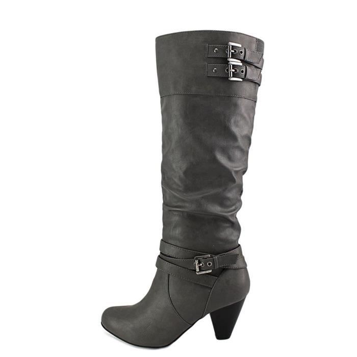 Rampage Womens Edsel Almond Toe Knee High Fashion Boots K7Y19 Taille-37 1-2 CszxCtTRbF