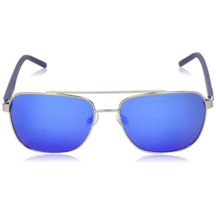 Polaroid Lunettes de soleil rectangulaires Mirrored - (pld 2044 - s R80 605x | 60 | Couleur bleu) CA62Z