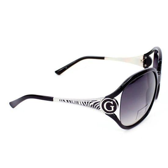Lunettes de soleil Guess GU7291 Noir - Argent, … Noir, Argent - Achat    Vente lunettes de soleil Femme - Soldes  dès le 9 janvier ! Cdiscount c09d0f798b11