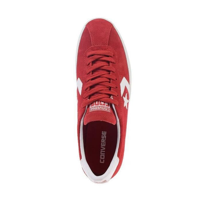 Chaussures Homme Break Point Ox Suede Rouge - Converse