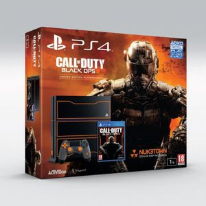 CONSOLE PS4 PS4 Edition Collector + Call of Duty Black Ops III