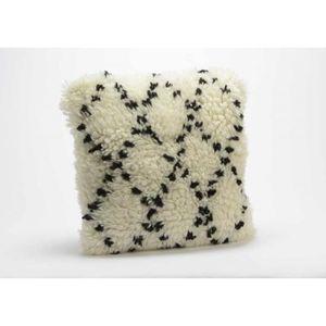 COUSSIN Coussin en laine shabby chic 40x40 cm