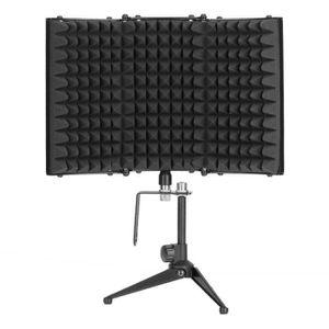 MICROPHONE - ACCESSOIRE Microphone Filtres Anti-Pop Mic Vent Bruit l'Écran