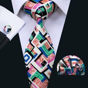 CRAVATE - NŒUD PAPILLON Hi Tie ensemble de cravate en coton à carreaux ble  ... 1852b4cfd70a