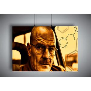 AFFICHE - POSTER Poster BREAKING BAD WALTER WHITE Wall Art 02 - A4