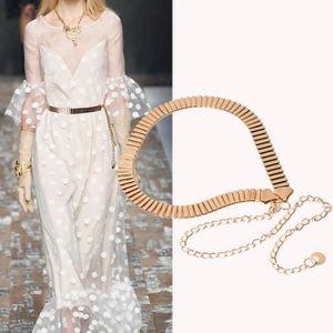 CHAINE DE TAILLE - CHAINE D EPAULE Femmes Mode chaîne en métal perle style  Ceinture 92cda75bfc9