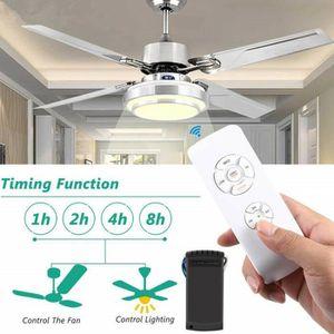 KIT COMMANDE Universel ventilateur de plafond lampe télécommand